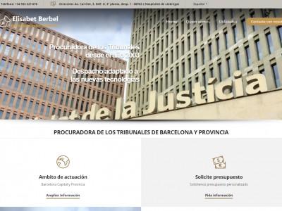 Web Berbel Procuradores